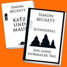 Simon Beckett |  Katz und Maus / Schneefall & Ein ganz normaler Tag (Buch)