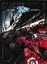 2012 INDY 500 FULL FIELD SIGNED PROGRAM INDIANAPOLIS FRANCHITTI WILSON CLAUSON