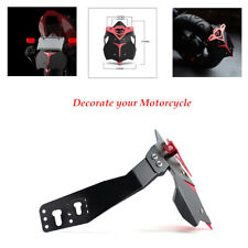 Length 27 cm CNC Aluminum Alloy Motorcycle Accessories Rear Fender Mud Wheel