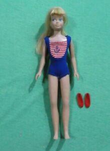 Vintage Barbie Skipper Doll -  Vintage Skipper 1030 Blonde Bend Leg Skipper Doll