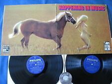 2 LP happening in Music Goykovich Doldinger Covent specialmente GERMANY 60er | m-to EX