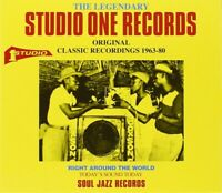 SOUL JAZZ RECORDS PRESENTS/THE LEGENDARY STUDIO ONE RECORDS  CD NEW+
