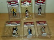 Lemax Lot of 6 Figurines Village People Collection Retired 1999 Christmas