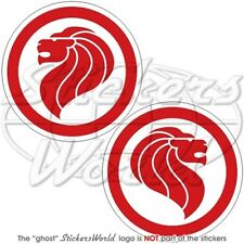 SINGAPORE AirForce RSAF Singaporean Aircraft Roundel 75mm Stickers Decals x2