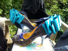 Irregular Choice Candyfloss Kiss Blue/Gold Size 3 / 36 Worn once