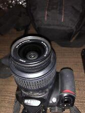 Nikon D D3100 Digital Camera Black with AF-S DX VR 18-55mm Lens+ Battery Charger