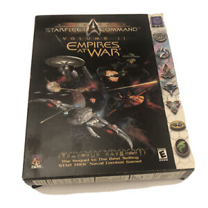 Star Trek Starfleet Command Volume II Empires at War Computer PC Big Box Game