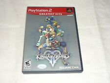 Kingdom Hearts II (Sony PlayStation 2, 2006)  WITH CASE