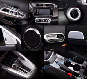 ABS Chrome Car Interior Kit Cover Trim For Nissan Kicks 2017-2018