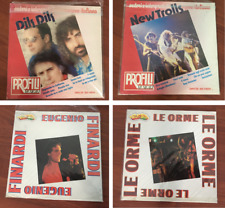 Lotto n.4 dischi in vinile LP 45 giri :  Dik Dik - New Trolls - Eugenio Finardi