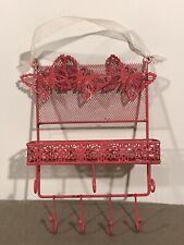 Pink Butterfly Earrings Jewellery Display Rack Metal Stand Holder Storage
