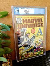 Official Handbook of the Marvel Universe #1, NOT CGC, 9.9 Grade PGX Marvel Comic
