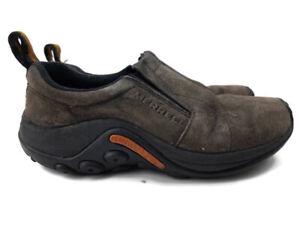 Merrell Women's Jungle Moc Gunsmoke Waterproof Slip On Shoe Loafer 7