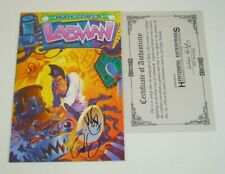 Labman #1 VF/NM variant signed by Rudy Coby with COA - Image Comics