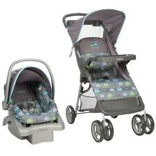 Cosco Lift & Stroll Baby Travel System, Stroller  Car seat, Elephant Circus NEW