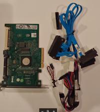 Dell Poweredge Perc 6/IR SAS Raid Controller (JW063) w/ cables