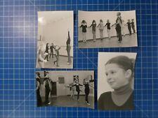 4 Schwarzweissfotos Ballett Eleven Barren Spiegel Schülerinnen Lehrerinnen K1484