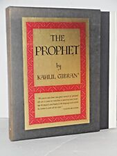 The Prophet by Kahlil Gibran (1971 Deluxe 15th print)