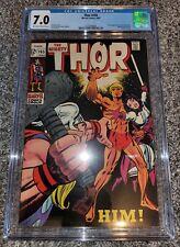 Thor #165 CGC 7.0 First Him (Adam Warlock) Appearance 1st App Grail, GOTG 3!