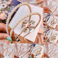 Pearl Headband Jewel HairBand Girls Headwear Accessories for Wedding Party New