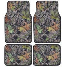 Muddy Water Camoflage Design Microfiber Camo Carpet Floor Mats - 4 Piece
