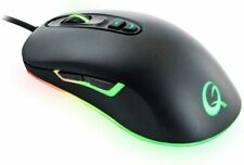 Maus Gaming QPAD PC USB Ergo Mouse 2800 RGB beleuchtet Notebook Laptop Office