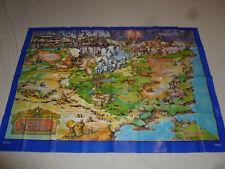 Vintage Wow Teddy Ruxpin Land Of Grundo Map Play Area Worlds Of Wonder 1986