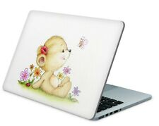 Universal Laptop Skin Notebook Netbook MacBook Aufkleber Sticker Teddy
