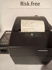 USB HANASIS HS-P02 (080215)  Receipt POS Printer with AC adapter