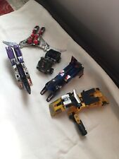 Vintage Transformer Lot 80?s Countach Takara Japan Metal & Plastic As Pictured