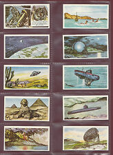 COOPER  &  CO.  LTD.  -  SET OF 25 MYSTERIES OF THE WORLD 1ST SERIES CARDS -1961