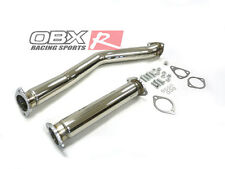 OBX Stainless Steel Down Pipe 86 87 88 89 90 91 92 Mazda RX7 ( FC3S )