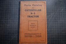 CAT Caterpillar R5 TRACTOR Dozer Crawler Parts Manual book SHOP catalog list OEM