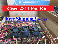 Cisco 2811 Router Replacement Fan Kit (3 new fans), ACS-2811-FAN-KIT=