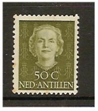 Netherlands Antilles - 1950/79, 50c Queen Jahama stamp - Mint - SG 320