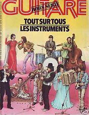 Guitare Magazine HORS SERIE -Tout sur les instruments-