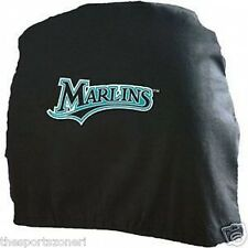 Florida Marlins Head Rest Covers Set of Two