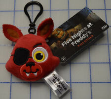 FIVE NIGHTS AT FREDDY´S FREDDY FOXY Plush Keychain Funko Key chain NEW