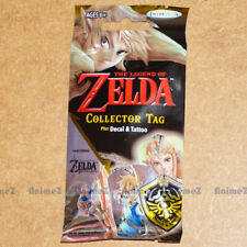 The Legend of Zelda Trading Collector Dog Tag, sticker & Tattoo Pack BOTW *NEW*