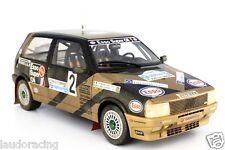 FIAT UNO TURBO I.E. 1/18 GRIFONE RALLY LIMONE 1987 N°2 G.DEL ZOPPO-P.SCALVINI
