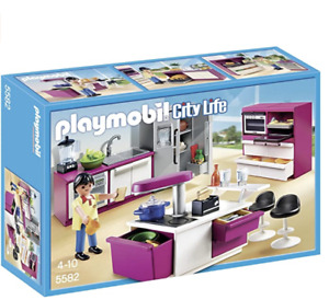 PLAYMOBIL Modern Kitchen- 5582 **NEW**
