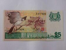 Singapore $5 Bird Series 1976 (PERFECT UNC) A/31 477828 (OFFER)