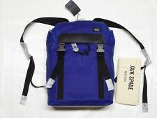 Jack Spade Waxwear Army Backpack Royal Blue With Tags