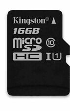 Kingston Micro SD 16GB SDHC Memory Card x4 NEW (L)