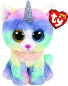 NEW TY Beanie Boos Heather Cat With Horn from Mr Toys