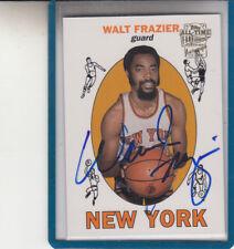 "2005-06 Topps Divertida Favourites Walt Frazier"" N.y. Knicks / Clyde ""Autógrafo"