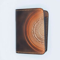 [NEW] Men's Small Leather Wallet Pattern