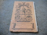 FEB 1866 OUR YOUNG FOLKS magazine