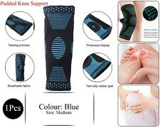 Climb Apoyo Knee Pad Brace Sleeve Joint Protect Padded Breathable Sports Azul