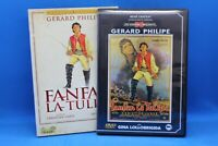 "dvd  "" fanfan la tulipe "" gérard philipe face 1 version N et B face 2 colorisée"